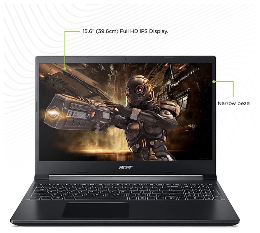 Gaming Device, Acer Aspire 7, Gaming Device, Core i5, GTX 1650, Graphics Card