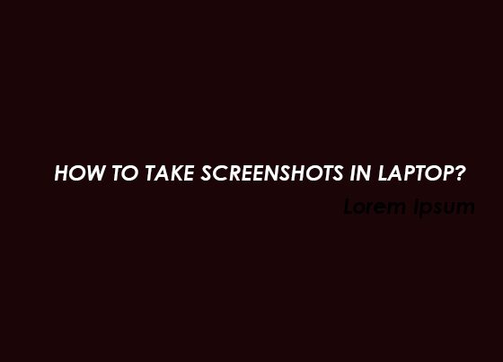 How to take screenshot in hp laptop, how to take screenshot in laptop